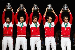 France v Switzerland - Davis Cup World Group Final: Day Three