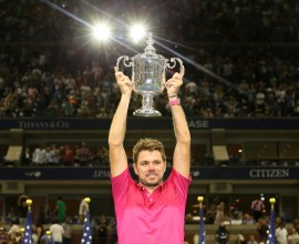 September 11, 2016 - 2016 US Open Men's Singles Champion Stan Wawrinka during the 2016 US Open at the USTA Billie Jean King National Tennis Center in Flushing, NY.
