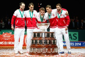 France v Switzerland - Davis Cup World Group Final: Day Three